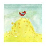 Feathers, Dots & Stripes XII Giclée premium par Ingrid Blixt