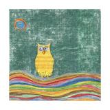 Feathers, Dots & Stripes V Giclée premium par Ingrid Blixt