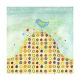Feathers, Dots & Stripes XIII Giclée premium par Ingrid Blixt