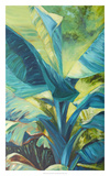 Green Banana Duo I Reproduction d'art par Suzanne Wilkins