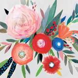 Circular Color Palette I Reproduction d'art par Isabelle Z