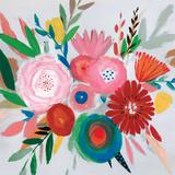 Circular Color Palette II Reproduction d'art par Isabelle Z