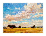 August Harvest Reproduction d'art par Robert Moore