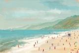Santa Monica Beach Reproduction d'art par Pete Oswald