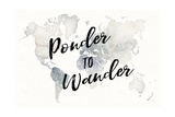 Watercolor Wanderlust Ponder