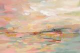 Pink Waves Reproduction d'art par Silvia Vassileva