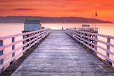 The Pier-Blairmore Papier Photo par Lynne Douglas
