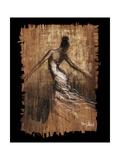 Mouvement gracieux III Reproduction d'art par Monica Stewart