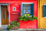 Flowers in Burano
