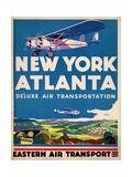 Eastern Air Transport - New York  Atlanta
