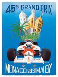 45th Monaco Grand Prix (Circuit de Monaco) - Formula One Race Cars