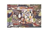 The Tea Cup (Accabonac Creek Series) Lithographie par Jackson Pollock