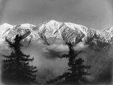 Snow Covered San Antonio Peak as Viewed from Mount Wilson