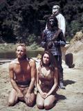 "Charlton Heston; Linda Harrison ""Planet of the Apes"" [1968]  Directed by Franklin J Schaffner"