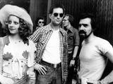 "Jodie Foster; Martin Scorsese; Robert De Niro ""Taxi Driver"" [1976]  Directed by Martin Scorsese"