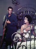 """Paul Newman; Elizabeth Taylor """"Cat on a Hot Tin Roof"""" [1958]  Directed by Richard Brooks"""