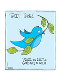 Tweet this! … Peace on Earth  Good Will to All!!! * The Editorial Board