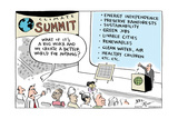 Climate Summit  What if it's a big hoax and we create a better world for nothing
