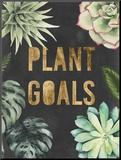 Plant Gold II Reproduction montée par Julie Silver