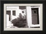 Sifnos, Grece Reproduction encadrée par Henri Cartier-Bresson