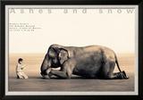 Boy Reading to Elephant  Mexico City