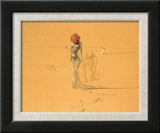 Female Figure with Head of Flowers  1937
