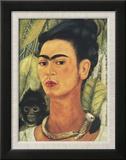 Self-Portrait with Monkey  c1938