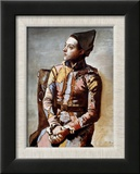 The Seated Harlequin  1923