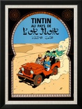 Tintin au Pays de l'Or Noir  c1950