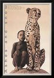 Child with Cheetah  Mexico