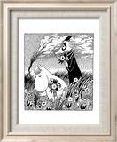 Vintage Moomin Illustration