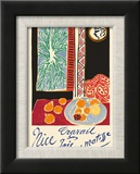Nice  France - Travail et Joie (Work and Joy) - Still Life with Pomegranates