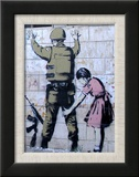 Soldier Searched by a Girl