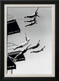 Le grand plongeoir Reproduction encadrée par The Chelsea Collection
