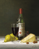 Chateau Petrus with Pears and Cheese