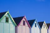 England  Essex  Mersea Island  Beach Huts