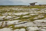 The Poulnabrone dolmen  prehistoric slab burial chamber  The Burren  County Clare  Munster  Republi
