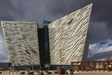 A view of the Titanic Museum  in the Titanic Quarter  Belfast  Ulster  Northern Ireland  United Kin