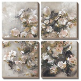 White Roses Were Her Favorite Tableau multi toiles par Macy Cole