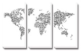 Hanji World Map