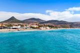 Coastal Landscape of Porto Santo Island in Madeira Archipelago, Portugal Papier Photo par Eugene Sergeev