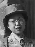 Private Margaret Fukuoka  WAC at Manzanar  1943