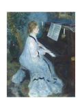 Woman at the Piano  1875-76