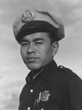 Policeman Sam Bozono at Manzanar  1943