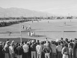 Baseball game  Manzanar Relocation Center  1943