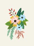 Folk Art Flowers No 4