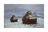 Meules  effet de neige  1891