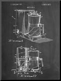 Coffee Maker Patent Reproduction montée