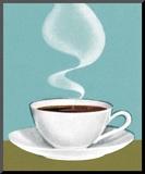 Hot Cup of Coffee Reproduction montée par Pop Ink - CSA Images