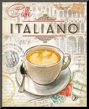 Caffe Italiano Reproduction montée par Chad Barrett